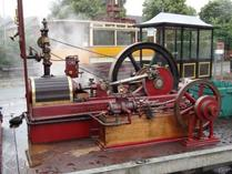 Steam Fair exhibit